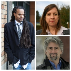 2015 Salon Playwrights: Stacy D. Flood, Pattie Miles Van Beuzekom, and John Longenbaugh