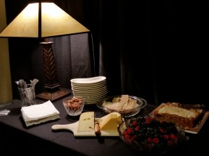 Among the many delights of The Glas Nocturne Smörgåsbord was the superb, traditional Swedish Almond Cake   Photo: Sharon Waltermire