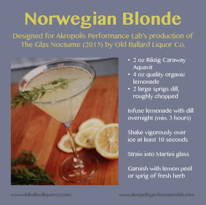 RECIPE card - Norwegian Blonde