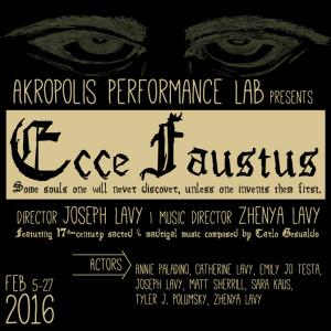 Ecce Faustus