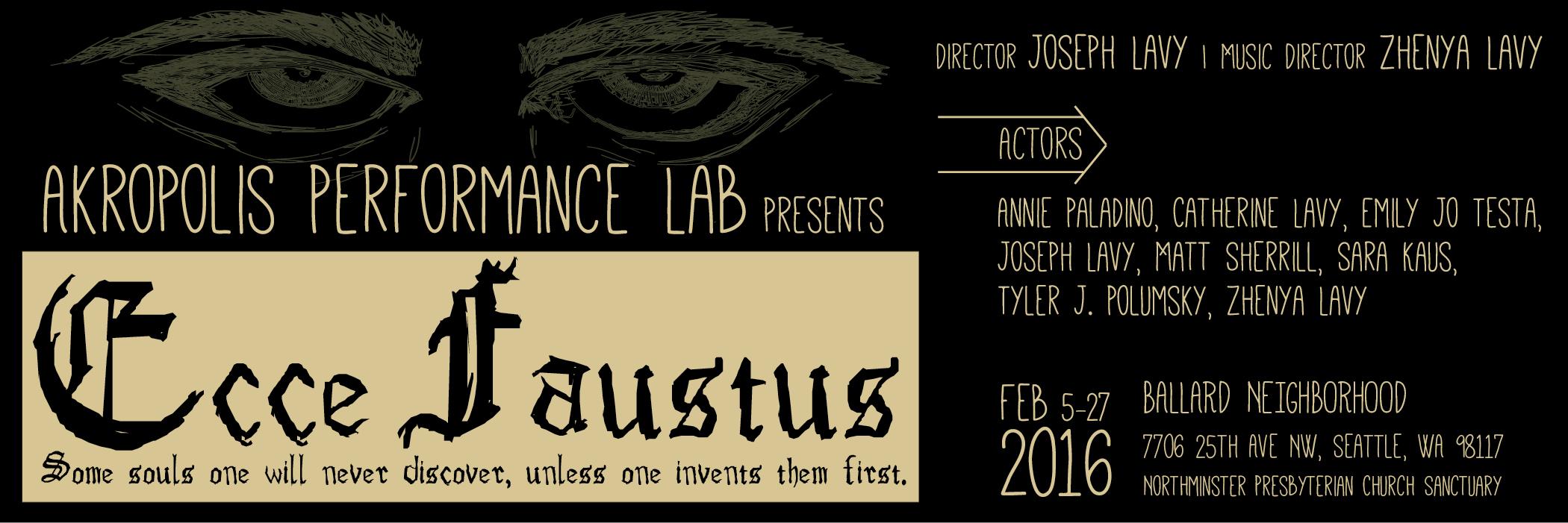 Ecce Faustus (2016)